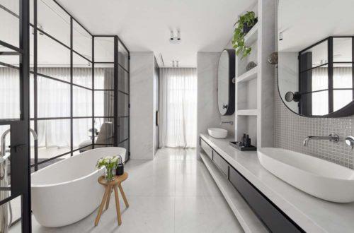 Badezimmer einrichten